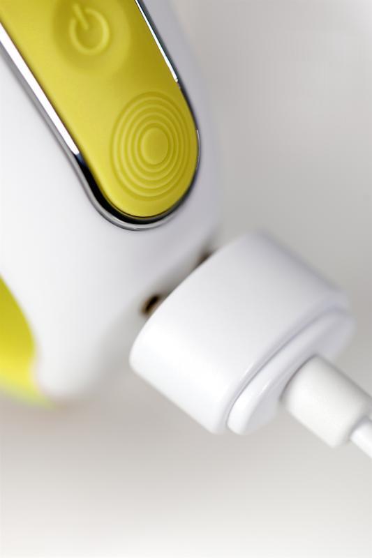 Нереалистичный вибратор Satisfyer Vibes Yummy Sunshine, Силикон, Желтый, 22,5 см