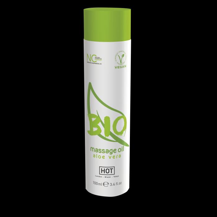Массажное масло HOT BIO Massage oil aloe vera 100 мл 44152