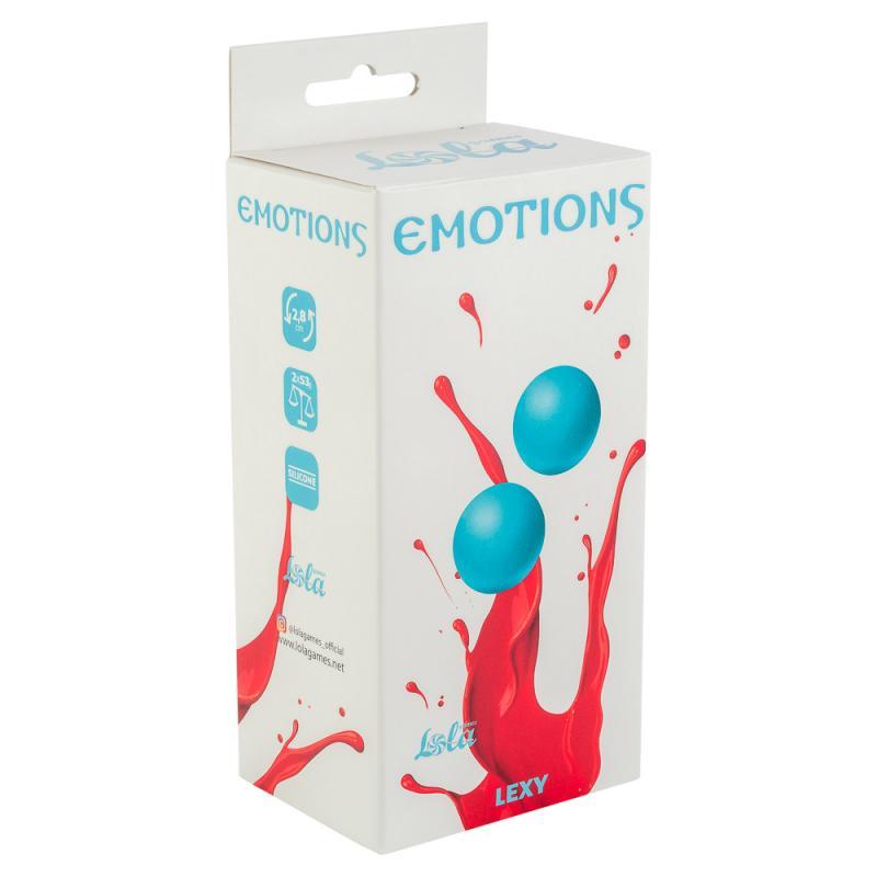Вагинальные шарики без сцепки Emotions Lexy Medium turquoise 4015-03Lola