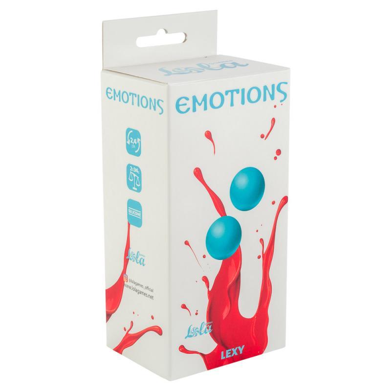 Вагинальные шарики без сцепки Emotions Lexy Small turquoise 4014-03Lola