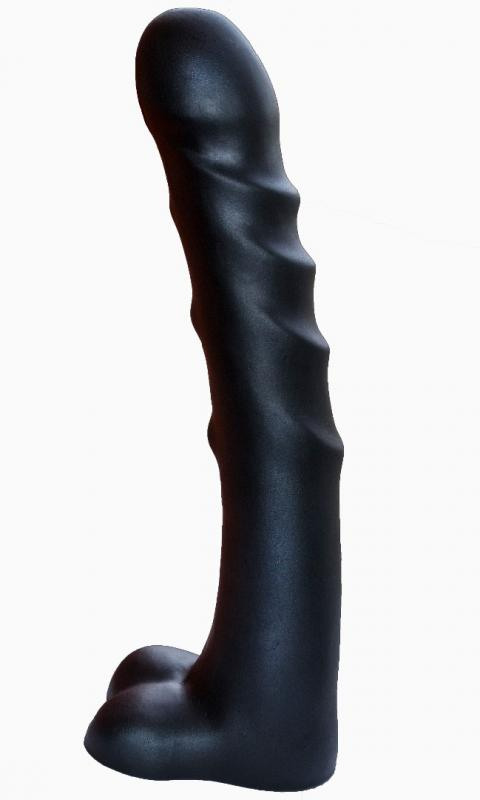 Фаллоимитатор-супергигант PREDATOR черный 927900ru