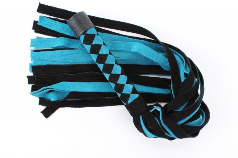 Нежная плеть из замши 54046ars